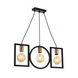 Závěsná lampa Andrew Geometric Three