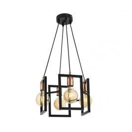 Závěsná lampa Bennett Gliss Black