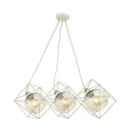 Závěsná lampa Annie Three White Závěsné lampy