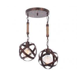 Závěsná lampa Ashley Copper Two Závěsné lampy