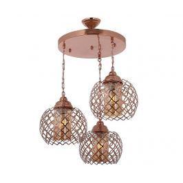 Závěsná lampa Adyson Copper Three