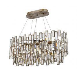 Závěsná lampa Makenzie Honey Patina