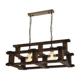 Závěsná lampa Erika Antique