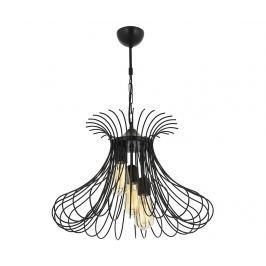 Závěsná lampa Carolyn Black Three Závěsné lampy