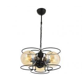 Závěsná lampa Mirielle Black