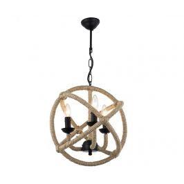 Závěsná lampa Belinda Black