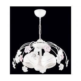 Závěsná lampa Charlotte White Three Závěsné lampy