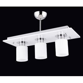 Závěsná lampa Amity White Three