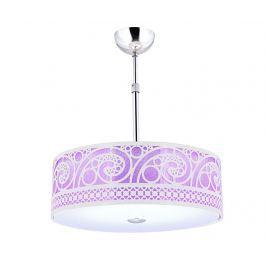 Závěsná lampa Delany Purple