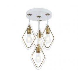 Závěsná lampa Marlene White Antique Four
