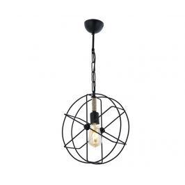 Závěsná lampa Aiden Black One
