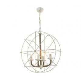 Závěsná lampa Aiden White Four