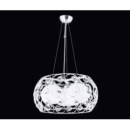 Závěsná lampa Filbert White Three