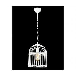 Závěsná lampa Birdcage White
