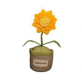 Dveřní zarážka Spring Flower Yellow