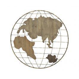 Nástěnná dekorace Map