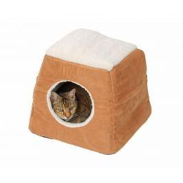 Pelíšek pro kočky 2 v 1 Arctic Tan