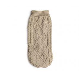 Obleček pro domácí mazlíčky Cozy Knit Oatmeal XL