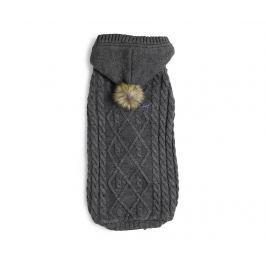 Obleček pro domácí mazlíčky Hoody Knit Grey S