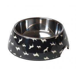 Mísa na krmivo pro psy Silhouette Dog Print 750 ml