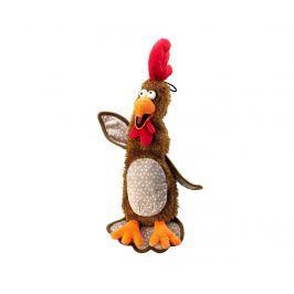 Hračka pro domácí mazlíčky Chicken Brown M