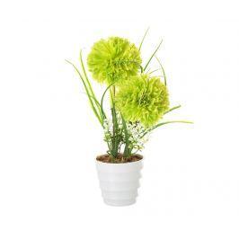 Umělá rostlina v květináči Chrysantemum Green