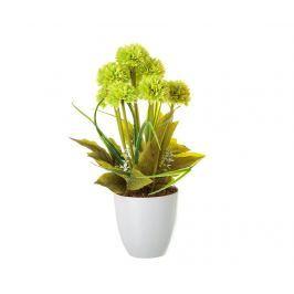 Umělá rostlina v květináči Little Chrysantemum Green