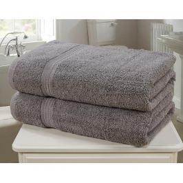 Sada 2 ručníků Royal Kensingon Charcoal 90x140 cm