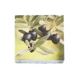 Sada 20 ubrousků Olive