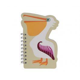 Zápisník se spirálou Pelican