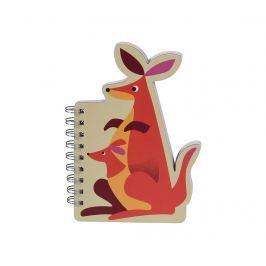 Zápisník se spirálou Kangaroo