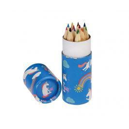Sada 12 barevných tužek se stojanem Magical Unicorn