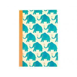 Sešit A5 Elvis the Elephant