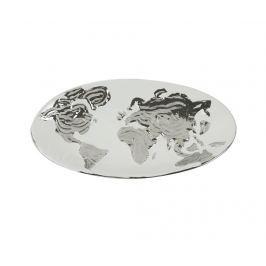 Dekorační podnos Equinoxe World Map Oval