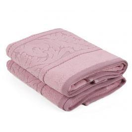 Sada 2 ručníků Sultan  Rose 50x90 cm