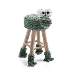 Dětská židlička Animal Green