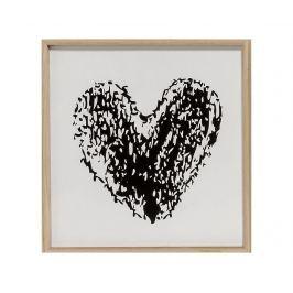 Obraz Dark Heart 30x30 cm