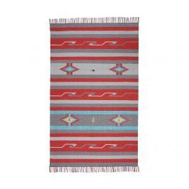 Kobereček Baja Grey Red 107x168 cm