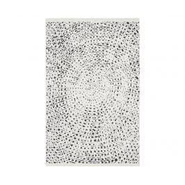 Koberec Kamala White Black 119x180 cm