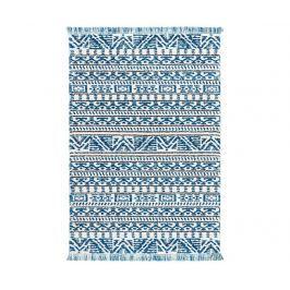Koberec Kamala Ivory Blue 119x180 cm