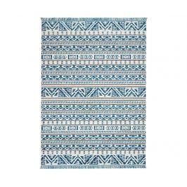 Koberec Kamala Ivory Blue 160x221 cm