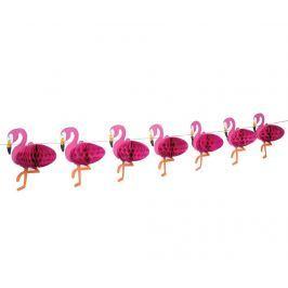 Girlanda Flamingo Honeycomb