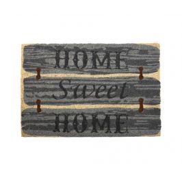 Vchodová rohožka Sweet Home Dark Green & Beige 40x60 cm