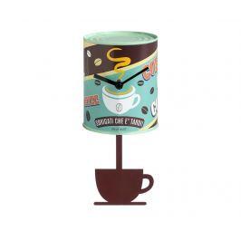 Nástěnné hodiny s kyvadlem Coffee