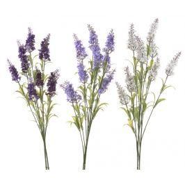 Sada 3 umělých květin Lavender