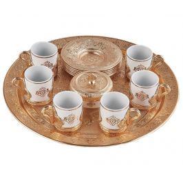 Kávová souprava, 15 dílů Romance Gold