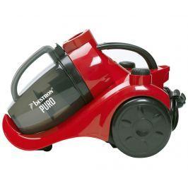 Bezsáčkový vysavač Turbine Puro Red & Black