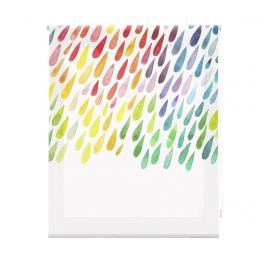 Zatemňovací roleta Colorful Drops 100x250 cm