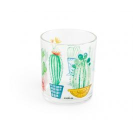 Sada 3 sklenic Cactus 250 ml