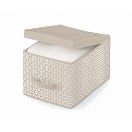 Úložná krabice s víkem Lily Beige S